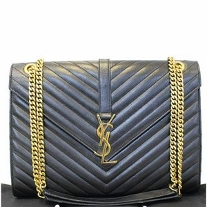 YVES Saint Laurent Large Envelope Chain Shoulder B